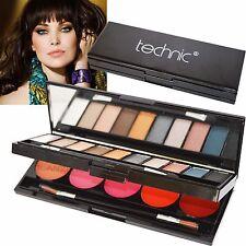 Technic Eye & Lip Palette Kit Compact Lip Gloss Eye Shadow Mirror Christmas Gift