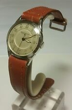Vintage JLC Jaegar-LeCoultre Wrist Watch c1955, Stainless Steel, 30mm, Manual