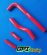 SILICONE RADIATOR HOSE for YAMAHA YZF250 YZ250F 2001-2005/WR250F 2001-2006 RED