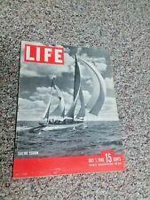 JULY 1 1946 LIFE MAGAZINE COKE JOE LOUIS BOXING TED WILLIAMS BOSTON RED SOX BOMB