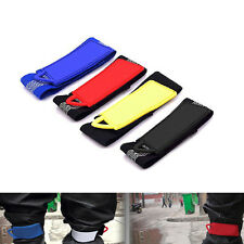 Hot New Practical 1Pair Bike Bicycle Cycling Elastic Pants Velcro Band Leg Strap