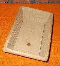 Alte Butterform, Holzmodel, Buttermodel - geschnitzt - Handarbeit 17,5 x 12 cm