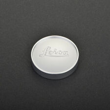 Leica E43 silver chrome front lens cap for 50mm f:1.4 Summilux lens E43 version