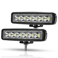 6inch 18W LED Work Light Bar Spot Flood Offroad Fog Driving Lamp Truck 4x4 4WD