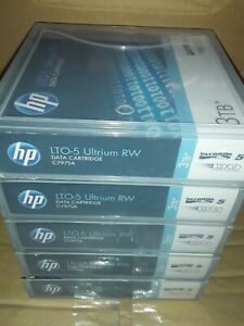 HP LTO 5x Ultrium 3Tb Data Cartridges (Free Delivery)