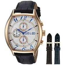 Invicta Men's Gold Plated Band Specialty Watches