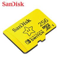 SanDisk  256GB MicroSDXC C10 UHS-I U3 Card up to 100MB/s for Nintendo Switch
