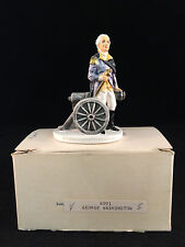 Sebastian Miniature Sml-084A George Washington & Cannon - Hudson 6001 Nib!