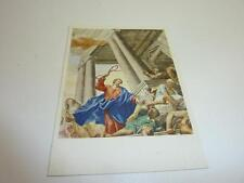 """vintage blank greeting card E.Fink artist Knoller  """"cleaning of the temple """"200"""""""