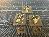 Flames of War | 3 x Nebelwerfer Launchers w/ Crew, Observer and Command Team