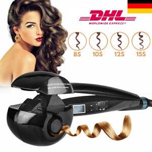 LCD Automatisch Curl&Straight Hair Glätteisen Lockenstab Lockenwickler Keramik