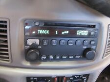 04 05 BUICK CENTURY AM/FM RECEIVER CD DISC PLAYER STEREO RADIO AUDIO OEM 18615