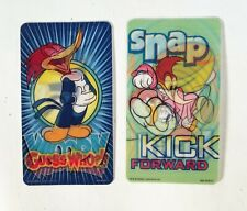 Set of 2 Woody Woodpecker Lenticular Cards