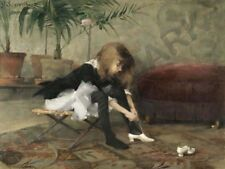 Schjerfbeck Dancing Shoes Art Print Poster Hp3877
