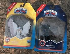 Skylanders Trap Team MASTER KNIGHT LIGHT+ KNIGHT MARE DARK SET RARE! Minty Fresh