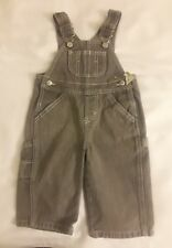 boys Levis gray jean overalls 12 Months