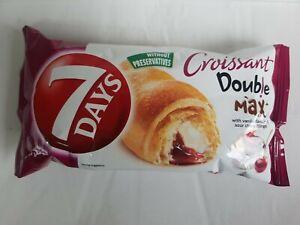 7Days Croissants ** Sour Cherry Double Max ** Box of 20 Croissants x 80g