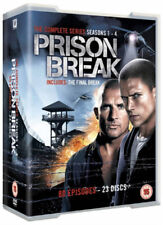 PRISON BREAK SERIES SEASON 1 2 3 4 + FINAL BREAK - COMPLETE 23 DVD BOX SET