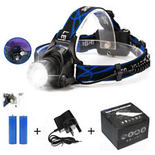 NEW Head LightTorch Lamp Headlamp Cree LED Rechargeable Flashlight  N2CX