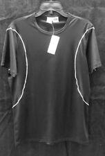 Men's Undergear Black XL Poly Tee Shirt
