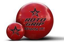 13lb Roto Grip Clear Polyester Bowling Ball Spare Ball Dry Lane Ball