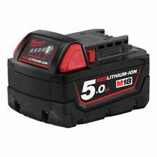 Milwaukee M18 B5 18V 5.0 Ah Batterie Rechargeable Li-Ion (4932430483)