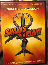Snakes on a Plane Ws Dvd Samuel L. Jackson *Sale! Buy 3+ Get Free Shipping*