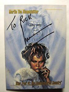 1993 Paranount Pictures Star Trek Undiscovered Country Martia signed