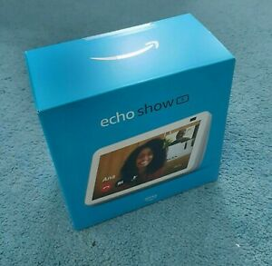 AMAZON ECHO SHOW 8 (2nd Generation) Smart Display w/ Alexa - Black - NEW SEALED