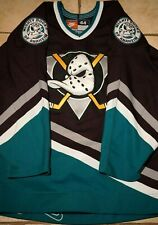 Vintage Anaheim Mighty Ducks Hockey Jersey NHL Nike Size 44 L XL Center Ice
