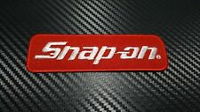 Embroidered Patch Iron Sew Logo SNAP ON TOOLS CAR MOTOR SPORT RACING TEAM BADGE