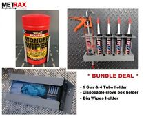 * DEAL* - Van Storage Bundle Glove box, Big Wipes & 1 gun 4 tube holder