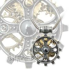 Goth : Alchemy Collier Chaine & Pendentif Steampunk Foundryman's Ring Gothique