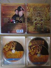 Devil's Double triple play Blu ray steelbook  * Dominique Cooper *