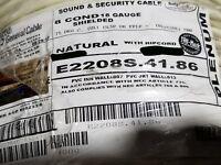 Carol E2208S 18/8C Shielded Control/Communications Cable Plenum White /100ft