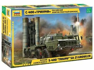 5068 S-400 Triumf  Zvezda Model Kit For Kids Adults NEW