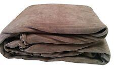 Aeolus Down Luxury Corduroy Comforter Duvet Cover Set Full/Queen, 3 Piece, Khaki