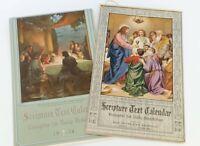 Vintage lot 1950s Scripture Calendar Church Year Bible 50s Religious Art