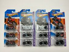 HOT WHEELS 2013 SHOWROOM THRILL RACERS VOLCANO DUCATI 1098R BLACK RED LOT OF 12