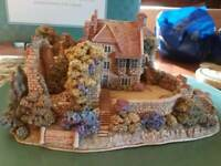 Rare! LILLIPUT LANE 1997 SCOTNEY CASTLE GARDEN Ltd Ed. #548/4500 DEED BOX BOOK