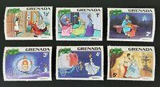 Grenada 1981 Disney Christmas Cinderella MH SC#1063-8 Set of 6