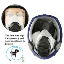 Air Fed Supplied Gas Mask System Full Face Airline Painting Spraying Respirator