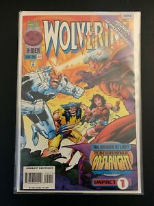 Wolverine: Beginning of Onslaught Impact 1-2 Gem Mint Uncirculated Marvel CL67-4