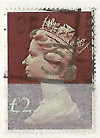 * GB £2 DEFINITIVE OLD + INTERESTING STAMP LOT No.4281117 *