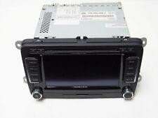 GENUINE VW RNS510 RNS 510 NAVIGATION SAT NAV DVD CD SD RADIO UNIT 1T0035680C VGC