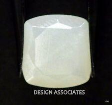 Rainbow Moonstone Faceted CUSHION CUT Calibrated 10 MM  Natural Gem