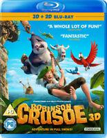 Robinson Crusoe Blu-Ray (2016) Vincent Kesteloot cert PG ***NEW*** Amazing Value