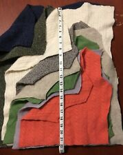 4Lbs+ Large | Med Felted Pieces for Lg/Md Project Wool Cashmere | No garbage