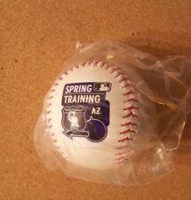 2016 Colorado Rockies Spring Training baseball ball Cactus League