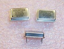 QTY (10) 25MHz FULL SIZE OSCILLATORS HCMOS TTL 5V TRI STATE EC1100TS-25.000M